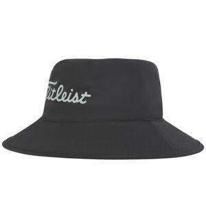 TITLEIST STADRY BUCKET HAT - BLACK - SIZE S/M