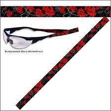 Brillenband Biker Damen Rose Rosen Blumen Band Sonnenbrille Kette Kortel
