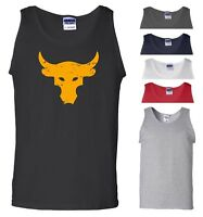 Brahma Bull Vest The Rock Project Gym Bodybuilding MMA Workout Gift Men Tank Top