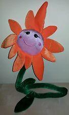 Peluche girasole fiore arancione idea regalo flower plush soft toys new
