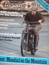 Classic Bike 10/83 Norton Commando Fastback,BSA C10, A Velocette Two Stroke,BAT