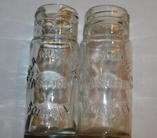 2 ancien FLACON kola granulée ASTIER soluble VINTAGE recipient PARIS old bottle