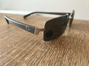 Calvin Klein 1081 SRX 008 Sunglasses Full Rim Silver Grey UK NEW Unisex