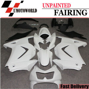 Plastic Matte Black Bodywork Fairing Fit for Kawasaki Ninja 2008 2009 2010 2011 2012 EX250 250R Injection Mold ABS New Aftermarket Bodyframe Kit Set 08 09 10 11 12