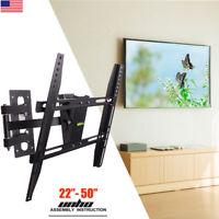 Fixed, Tilt, or FULL MOTION TV WALL MOUNT BRACKET for 32-75INCH Samsung Vizio LG