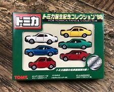 1998 Tomica Birthday Anniversary Set Honda Laurel Corona Sprinter Sunny R-2 Tomy