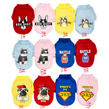Dog Clothes Winter Warm Pet Puppy Cat Shirt Teddy Poodle Small Dogs Fashion Vest