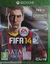 "JEU XBOX ONE ""FIFA 14"" (inclus FIFA 14 Ultimate Team Legends) NEUF SOUS BLISTER"