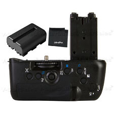 Battery Grip For Sony A77 + NP-FM500H Battery