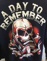 A Day To Remember Large Blue Sweater