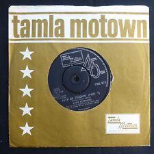 "EDDIE KENDRICKS Keep On Truckin' MOTOWN TMG873 UK Press 7"" 45 VINYL EX"