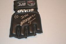 UFC MMA Legend Anderson Silva autographed signed OUANO UFC glove to Jesse
