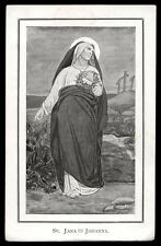 "santino-holy card""S.GIOVANNA DI CUSA"