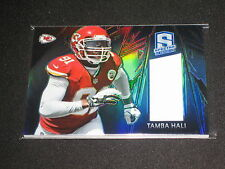 TAMBA HALI CHIEFS LEGEND AUTHENTIC EVENT GAME USED JERSEY CARD #/99