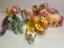 My Little Pony G1 Lot of 7 ponies - Vintage good condition
