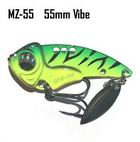 Green Vibe Fishing Lures Bream Barra Trout Flathead Bass Saltwater Freshwater