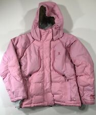 DC Shoes Womens Breast Cancer Awareness Ski Snowboard Jacket Pink Size Small EUC
