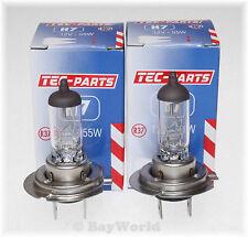 2 St. H7 12V 55W Halogen Glühlampe PX26d Auto E4 Zulassung 12070 TEC-PARTS Birne
