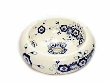 Meksykańska umywalka nablatowa w odcieniach kremowo-niebieskich Ceramika- Alonsa