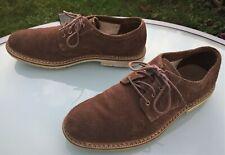 Timberland Mens Casual Shoes - Eu 43 / UK 8.5 - Brown Suede & Sensorflex Soles