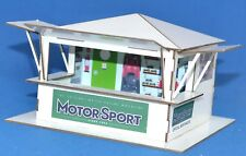 1:32 Scale Kit - 'Open 3-Sided' Merchandise Hut - for Scalextric/Other Layouts