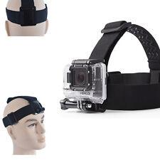 Elastic Head Strap Belt Mount Headband For GoPro Hero 2 3 3+ 4 5 Action Camera