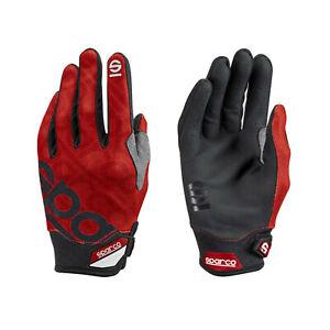 Sparco Mechaniker Handschuhe MECA-3 rot 10 DE