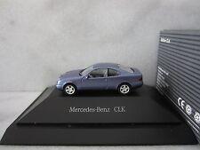 HERPA MERCEDES BENZ CLK COUPE DEALER PROMO B/V Model is Plastic 1/87 or HO SCALE