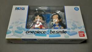 One Piece @ be.smile Figure Monkey D. Luffy & Boa Hancock Bandai