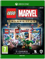 Lego Marvel Collection Triple Pack Avengers & Super Heroes 1+2 XBox One Game