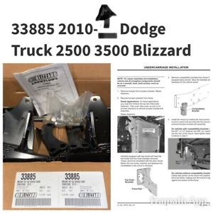 Blizzard 33885 Snow Plow Mount Kit Undercarriage 2010 ~   Dodge Ram 2500 / 3500