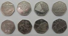 London 2012 Olympics 8 Commemorative Coins 50p 2011 Rare CIRCULATED