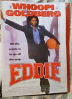 EDDIE WHOOPI  ORIGINAL AUSTRALIAN 1 SHEET DVD MOVIE POSTER