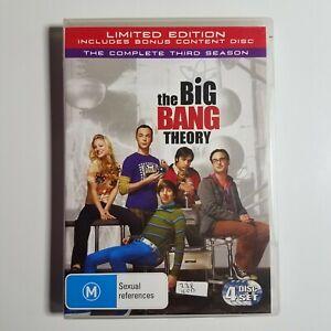 Big Bang Theory: The Complete Third Season   DVD TV Series   Kaley Cuoco   2010