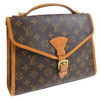 LOUIS VUITTON BEL AIR BUSINESS 2WAY HAND BAG MONOGRAM M51122 SL1926 AK31712k