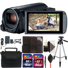 Canon VIXIA HF R800 HD Camcorder (Black) + 80GB Accessory Kit + Tripod