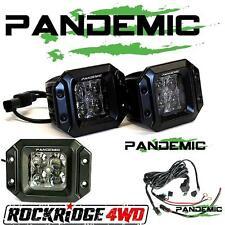 "PANDEMIC 5""X4"" HIGH OUTPUT LED POD FLUSH MOUNT LIGHT KIT W/5W OSRAM - FLOOD BEAM"