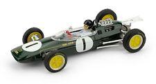 LOTUS 25 GP BELGIO 1963 J.CLARK 1° CAMPIONE del MONDO con PILOTA Brumm R331CH