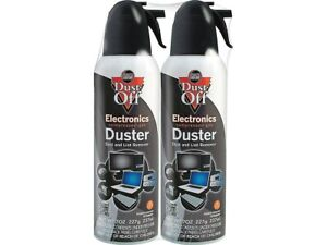 Falcon Dust-Off Air Dusters 2/Pack (DPSM2) 356654