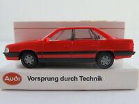 Rietze/Audi Audi 200 Turbo Limousine (1983-1990) in rot 1:87/H0 NEU/OVP