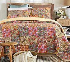 100% Cotton Decorative Patchwork Quilts