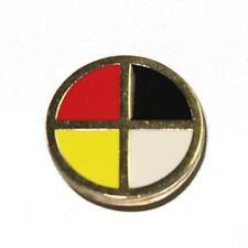 First Nation Medicine Wheel Rivet Back Concho