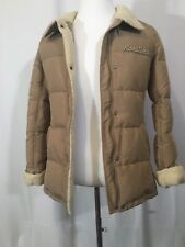 Rocawear Tan Mens Heavy Warm Winter Coat Jacket EUC!!!!