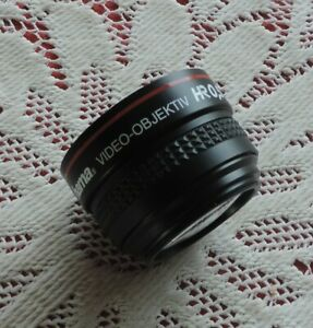HAMA VIDEO-OBJECTIVE HRO,5 WW LENS 43mm to 46mm for camcorder (44352)