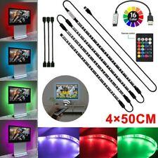 2M USB Powered RGB 5050 LED Strip Light for TV Computer BackLights Waterproof US