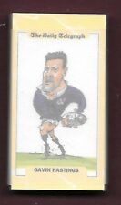 1995 The Daily Telegraph Team Scotland Rugby World Cup Team Set (26)