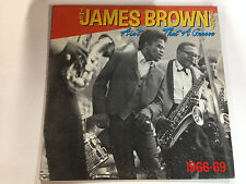 James Brown Story  Ain`t That The Groove EXc 1984 Polydor 12`` Lp