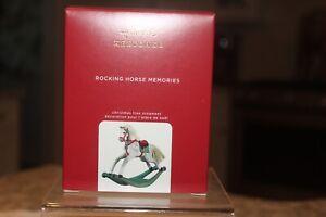 2020 Hallmark Keepsake Ornament Rocking Horse Memories 1st in Series NEW