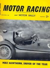 Motor Racing - BRSCC journal - magazine - November 1958