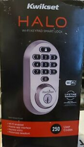 Kwikset Halo Wi-Fi Smart Lock 99380-001 New